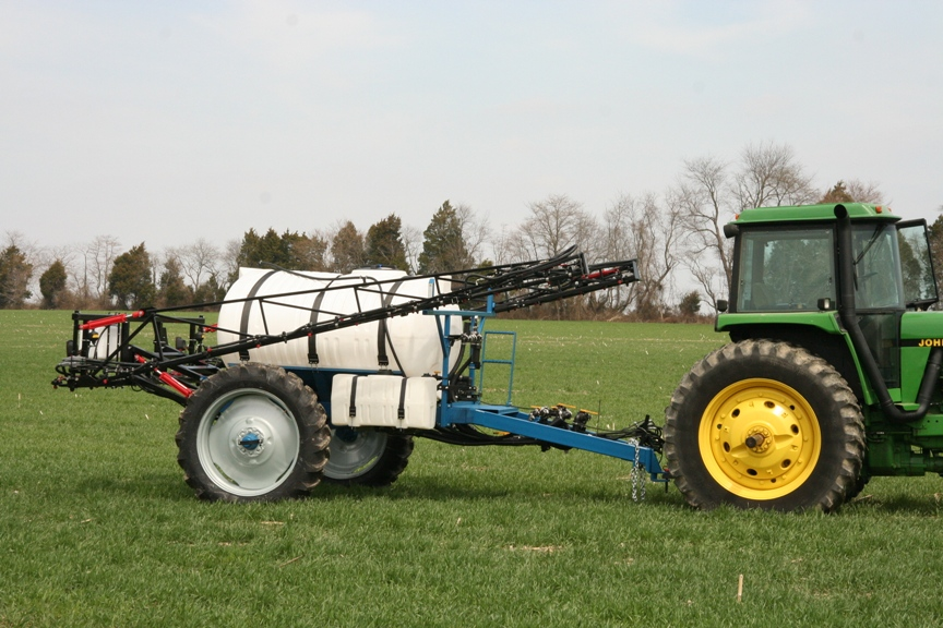 Mid Atlantic Services Sprayers Agricultural Big Wheel